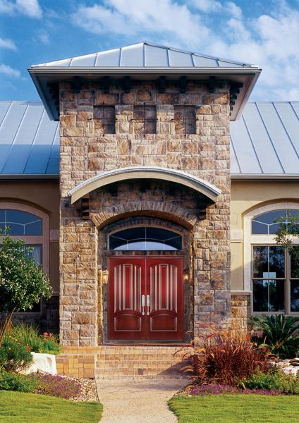 Choosing the right entry door is our speciality. Let us design something for you.