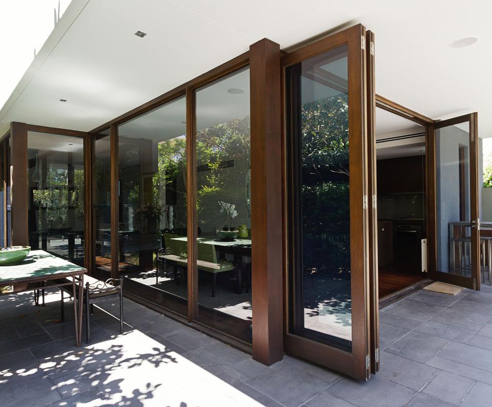 Folding patio doors Dallas