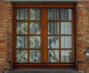 Wooden window Dallas